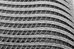 Tower structure (Daniel Nebreda Lucea) Tags: tower structure estructura torre abstract abstracto building edificio construccion architecture arquitectura minimalism minimalismo repetition repeticion black white blanco negro monochrome monocromatico lines lineas light luz luces lights shadows sombras curve curva curves curvas modern moderno urbano expo zaragoza aragon spain canon 50mm 60d windows ventanas mny muchas travel viajar background fondo art arte pattern patron urban city ciudad street calle