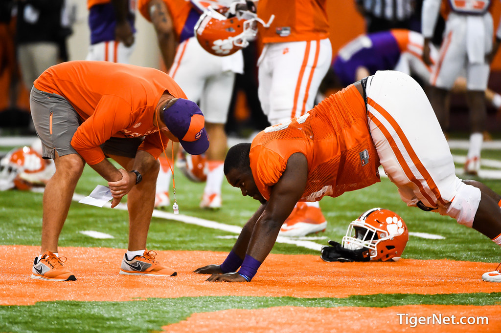 Clemson Photos: Dabo  Swinney, Tyrone  Crowder, 2017, Football