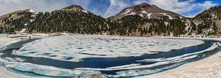 Lassen Volcanic NP - Lake Helen and Lassen Peak