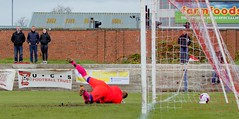 Nicky Little's well placed finish is out of the reach of David Buchanan (Stevie Doogan) Tags: clydebank cumbernauld utd mcbookiecom west scotland league superleague first division holm park saturday 15th april 2017 bankies scottish juniors