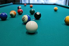 at the center of action (nickdifi) Tags: games sport humans leisure billiards