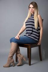 Kali (austinspace) Tags: woman portrait spokane washington studio alienbees blond blonde dress necklace