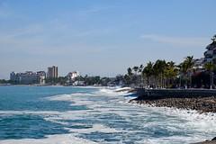 Puerto Vallarta Sea Front (The Brit_2) Tags: puerto vallarta mexico cruise ocean blue palms absolutelystunningscapes