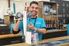 Cheerful bar staff (Adnams) Tags: theboatraces furnivallgardens adnams ghostship beer fanpark hammersmith