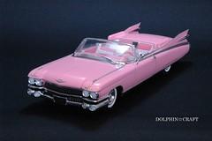1959 Cadillac ELDORADO BIARRITZ 8 (DOLPHIN☆CRAFT) Tags: 1959 cadillac eldorado biarritz convertible monogram キャデラック エルドラド ビアリッツ コンバーチブル モノグラム プラモデル