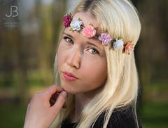Portrait of Princess (JanBures_com) Tags: portrait princess prague praha face blond girl lady woman