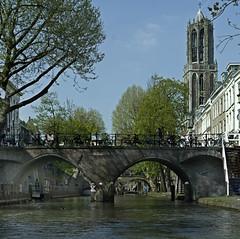 Utrecht Domtoren (Theo_2011) Tags: utrecht dom domtoren kerk church gracht water canal brug bridge