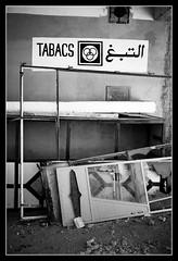 Tabacs Finished (toletoletole (www.levold.de/photosphere)) Tags: fujixt2 marokko zagora morocco sw bw still stillleben