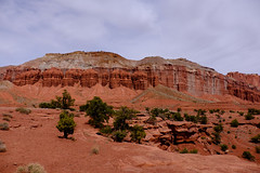 Capitol Reef-7624 (tristanrayner.com) Tags: arizona capitolreef utah desert scenic drive national park panorama point lunch red rocks millenia erosion