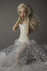 LoveAffair (UrsiSarna) Tags: ursi sarna fashion popovy sisters doll resin dress gown tulle little owl