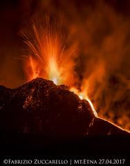 ERUZIONE ETNA 26-27 APRILE 2017 (Fabrizio Zuccarello) Tags: sicilia sicily etna italia italy volcanoes vulcani geology nature