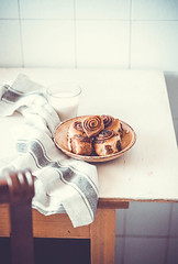 Roll buns with Nutella (evgenialevi) Tags: food foodphoto foodie foodstyling roll buns breakfast yummy delicious