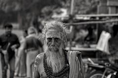 Sadhu (Rajavelu1) Tags: blackandwhite portrait portraitphotography sadhu devoties hindu india artwork creative canon6d canonef70200f4llens outdoor streetphotography candidstreetphotography candidportraitphotography candid