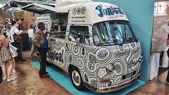 VW Ice Cream Van 'Daisy'. (ManOfYorkshire) Tags: vw kombi transporter type2 bus van icecream selling idealhomeshow 2017 daisy rhd converted yorica