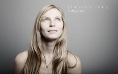 Hightkey Girl (timo_holinka) Tags: nikon portrait girl hightkey blond woman grey