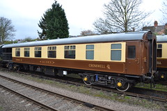 BR 13317 Mk 1 Verandah / Corridor First (Will Swain) Tags: loughborough central station great railway spring diesel gala 18th march 2017 train trains rail railways transport travel uk britain vehicle vehicles country england english preserved heritage gcr coach br 13317 mk 1 verandah corridor first