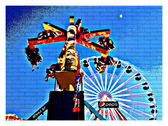"""Twister"" amusement ride at the pier (ocean city) (delmarvausa) Tags: rides boardwalk oceancitymaryland lights afterdark nighttime boardwalkstroll oceancitymd ocmd oceancityboardwalk amusements summer oceancity famousboardwalk summertime night atnight resorttown beachtown eastcoast midatlantic maryland beaches twister amusementrides pier ferriswheel boardwalkfun amusementpark"