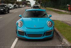 Miami Blue (Andre.Siloto) Tags: porsche 911 991 gt3rs gt3 rs miami blue azul curitiba ctbaexotics ctba cwb paraná pr brasil brazil bra br nikon d3200 2017