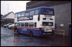 3008 Engine fire. (Vinyl 1979) Tags: 3008 f308xof wmt twm parklanegarage mcwmetrobus travelwestmidlands mcw