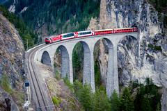 2017 Glacier Express (jeho75) Tags: sony ilce 7m2 zeiss schweiz switzerland sbb rhätische bahn graubünden glacier express landwasser viadukt brücke eisenbahnromantik train