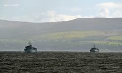 HMS Grimsby & HMS Cattistock (Zak355) Tags: hmsgrimsby hmscattistock navy royalnavy ship boat vessel riverclyde rothesay isleofbute scotland scottish bute cobham gfrat exercise minehunter minesweeper