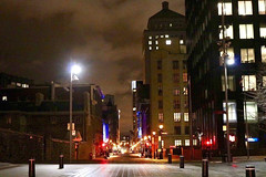 Montreal (alliejehle) Tags: downtown city cityscape landscape architecture nighttime lights montreal quebec