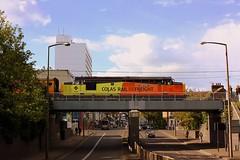New Paint Job at Southend (Chris Baines) Tags: colas 37254 network rail test train southend