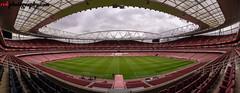 Emirates Stadium - The home of Arsenal FC, London (rvk82) Tags: 2017 april april2017 arsenal arsenalfc emiratesstadium england football london nikkor1424mm nikon nikond810 rvk rvkphotography raghukumar raghukumarphotography wideangle wideangleimages rvkphotographycom unitedkingdom gb