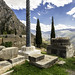 Delphi, The Sacred Way – XXII – The Kroton and Plataean Tripods
