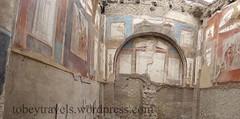 007 College (Hall) of the Augustals, Sacellum, Herculaneum (11) (tobeytravels) Tags: herculaneum collegeoftheaugustals hall