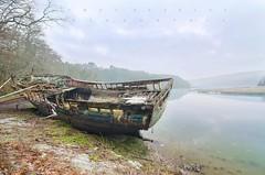 Old Glory (tbourley) Tags: bretagne britany epave shipwreck morningmist morninglight trieux côtesdarmor