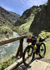 Imnaha River to Snake River Overnighter (Doug Goodenough) Tags: bicycle bike cycle pedals spokes packing bikepacking surly pugsley krampug 29 imnaha snake hells canyon april spring 2017 17 trail gravel dirt drg53117 drg53117p drg53117pimnaha bikepackingcom drg531