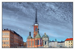 Riddarholmskyrkan (kurtwolf303) Tags: riddarholmskyrkan stockholm sweden schweden svenska kirche church sky himmel clouds wolken pastel nikoncoolpixs9900 nikon compactcamera architecture architektur buildings gebäude kirchturm city stadt gamlastan unlimitedphotos cityscape urban sakral 250v10f 500v20f 750views 800views 1000v40f 900views