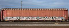 _DSC4227 (The Curse Of Brian) Tags: trains freights graffiti minneapolis minnesota kone misry narko