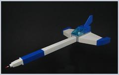 The Write Stuff (Karf Oohlu) Tags: lego moc microscale legobiro legogelpen thewritestuff spaceship microspacetopia