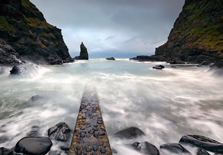 Portcoon jetty - Co Antrim - Northern Ireland