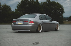 BMW 7 E65 (JAYJOE.MEDIA) Tags: bmw 7 e65 low lower lowered lowlife stance stanced bagged airride static slammed wheelwhore fitment dampfhammer