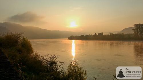 SunriseRun an der Rheinschleife bei Boppard