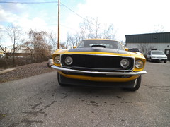 """1969  Ford Mustang Mach 1 • <a style=""""font-size:0.8em;"""" href=""""http://www.flickr.com/photos/85572005@N00/8750462647/"""" target=""""_blank"""">View on Flickr</a>"""