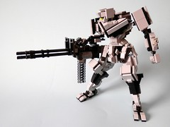 Here is my boom stick! (ZephyrChaos) Tags: robot lego guns defense onyx mecha mech moc