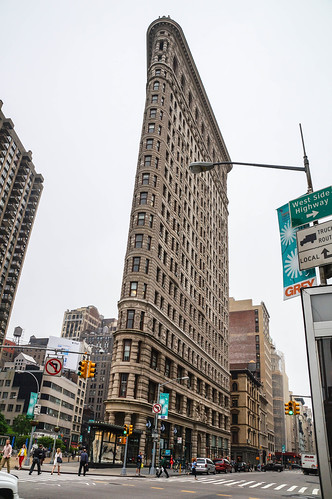 Flatiron Building, 23rd & Broadway, Flatiron District, Manhattan