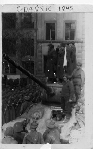 Liberating Gdansk, 1945
