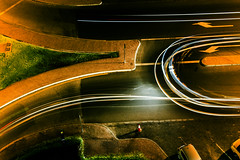street lights (Ali Sabbagh) Tags: road street motion cars night canon photography lights dubai traffic uae uturn dxb motions 1100d blinkagain canon1100d rebelt3