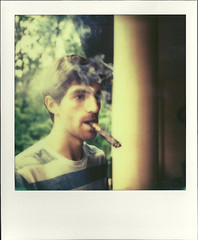 Brady (DHKirkpatrick) Tags: project polaroid sx70 cigar impossible
