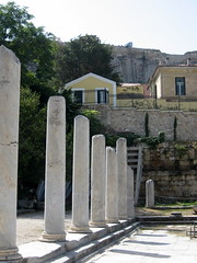 114 - Broken columns (Scott Shetrone) Tags: events places athens greece acropolis 5th romanforum anniversaries