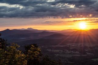 Roanoke Mountain Sunrise  (Explore)