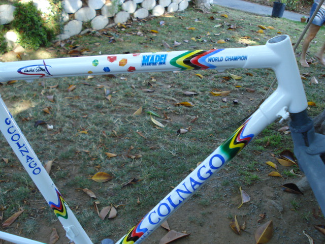 Colnago C40 Mapei World Champion repaint. www.wantaframes.com (Linds28) Tags 46cba1537