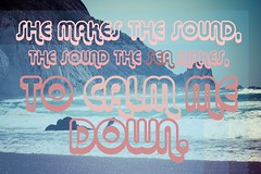 (SbAIrNa) Tags: she sea portugal lyrics graphics sound typo  altj