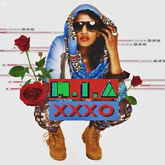M.I.A.  XXXO (Dot  Dot  Dot) Tags: girls roses me design artwork all maya album madonna bad free give your cover single mia girlz kala nicki luvin arular paperplanes minaj xxxo