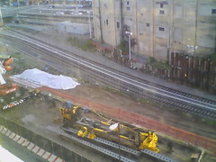 Record by Always E-mail, 2013-06-19 06:09:58 (atlanticyardswebcam) Tags: newyork brooklyn webcam prospectheights atlanticyards vanderbiltrailyard 696716atlanticavenue 718728atlanticavenue block1120